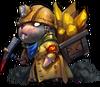 Крот шахтер