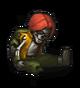 Останки солдата (красные волосы)
