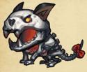 Skeleton Husky