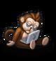 Останки обезьяны