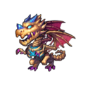 Скелет драконлинга