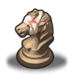 Injured Chess Piece