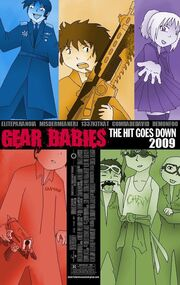 Gear Babies Promotional Cover by EliteParanoid