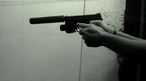 Silenced S&W M&P 9mm
