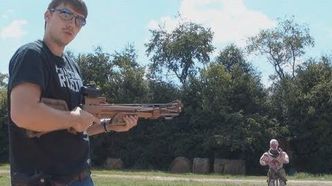 EXPLOSIVE CROSSBOW, AK47, & CUSTOM SHOTGUN