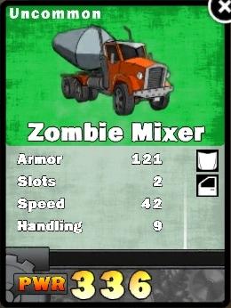 Zombie mixer card