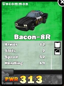 Bacon-8r card