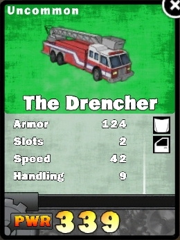 Drencher card