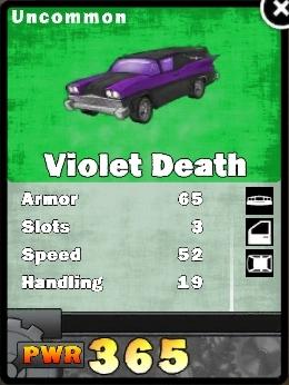 Violet death card