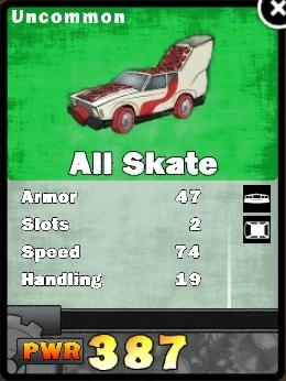 All skate card