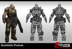 Garron Paduk | Gears of War | FANDOM powered by Wikia