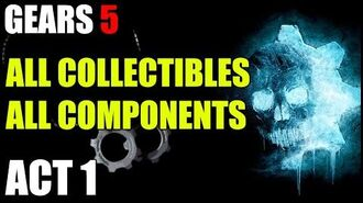 ACT 1 - All Collectables & Component Locations Gears of War 5