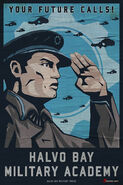Halvo bay military academy poster by m wojtala-d62vhnf