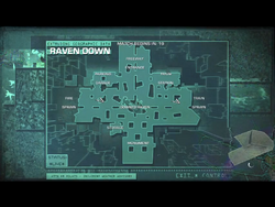 Ravendown map