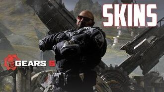 Insane Halo, Terminator and Promotional Skins! GEARS 5