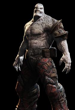Hunter Elite pose