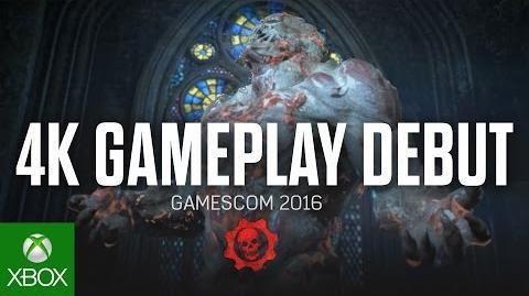 Gears of War 4 - Demostración de la Gamescom 2016