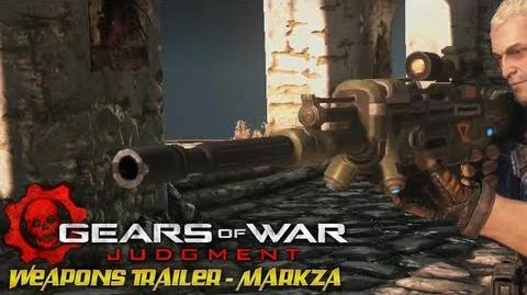 Gears of War Judgment - Weapons Trailer - Markza