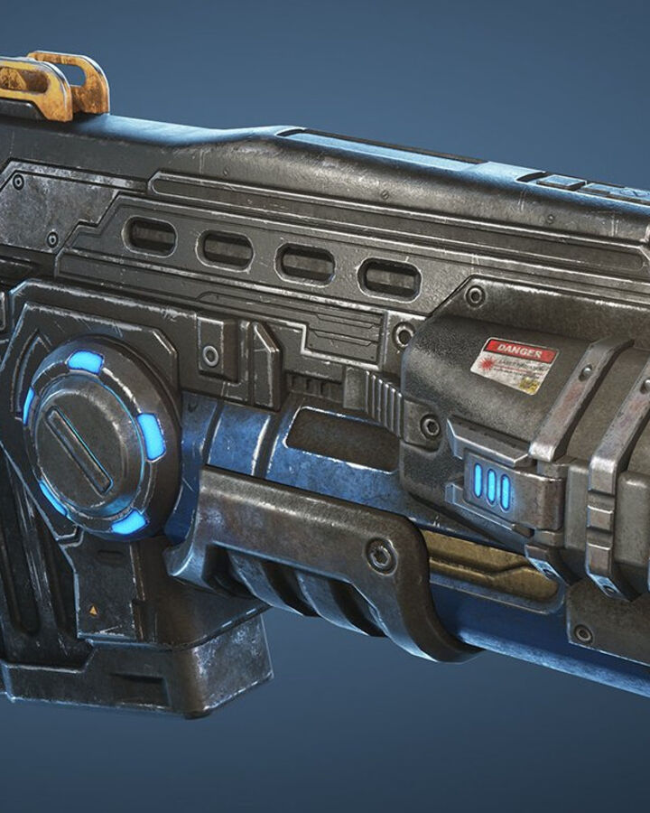 Lancer Gl Ault Gears Of War