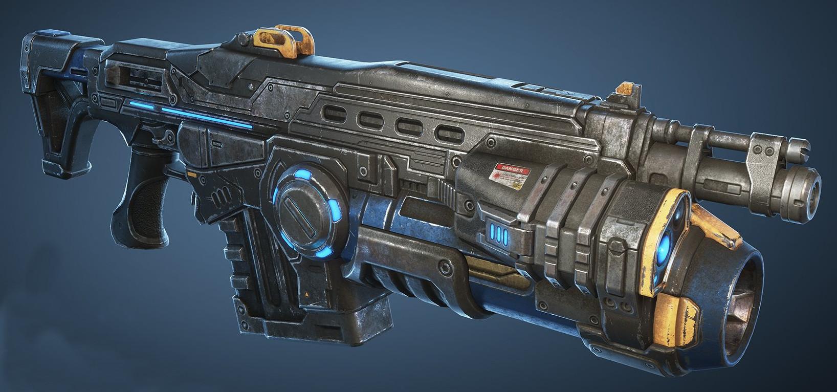 Lancer Gl Assault Rifle Gears Of War Fandom Powered By