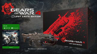 GOW 4 Loot Crate