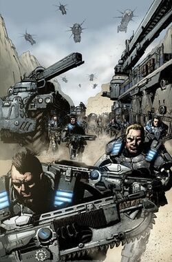 Gears of War pages by JoelGomez
