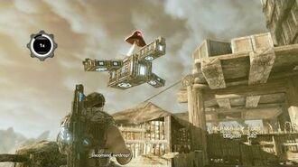 Gears of War 3 - Cluckshot Easter Egg Rooster Teeth