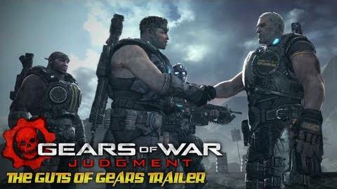 Gears of War Judgment - The Guts of Gears Trailer