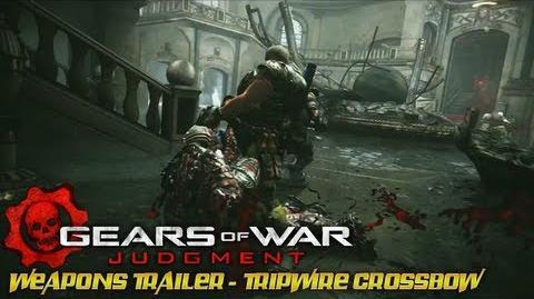 Gears of War Judgment - Weapons Trailer - Tripwire Crossbow