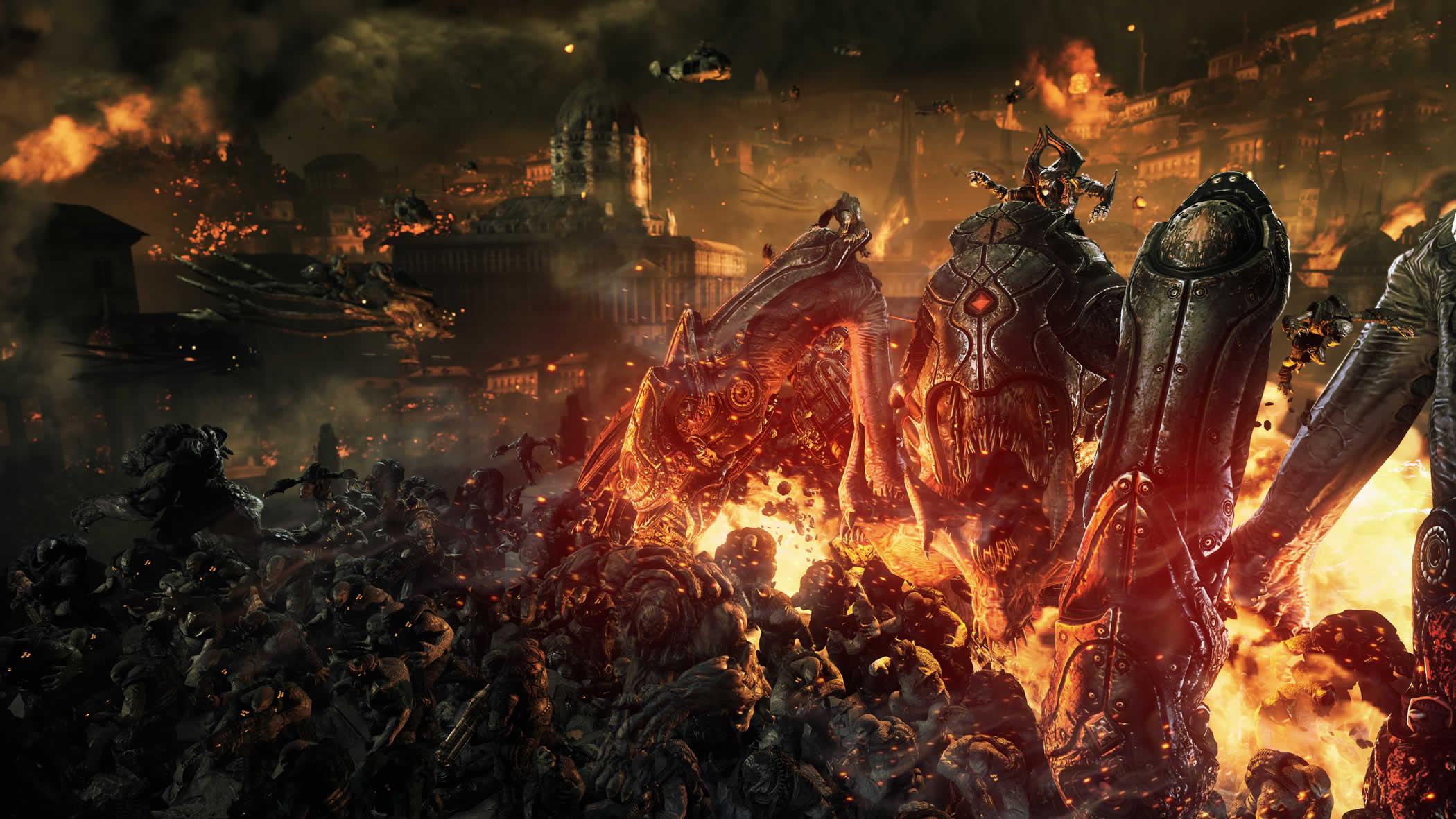 Locust Horde Gears Of War Fandom