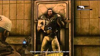 Gears of War 3 Easter Egg HD! - Cole Trains Hat and Cereal!