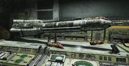 Gears 5 UIR Rocket model