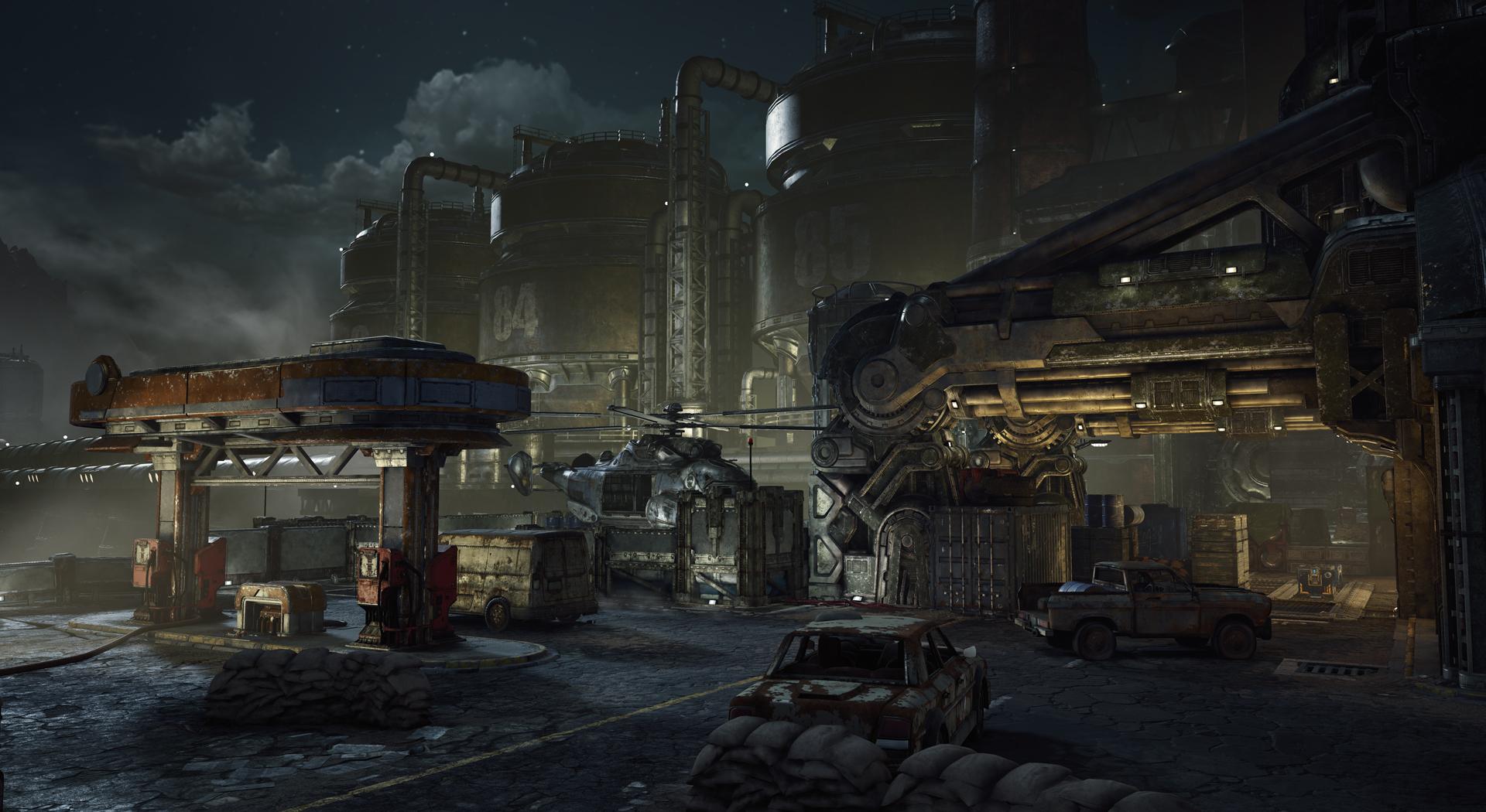Fuel Depot | Gears of War | FANDOM powered by Wikia