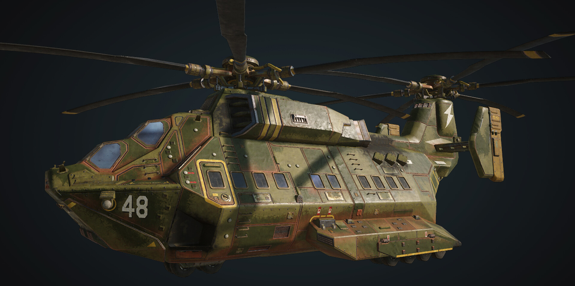 UIR Transport Helicopter | Gears of War | FANDOM powered by