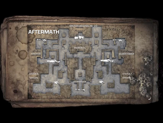 Aftermath map