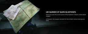 Hammer of Dawn blueprint