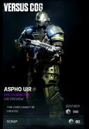Gears 4 UIR Aspho
