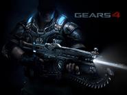 Gears 4 Lancer Wallpaper