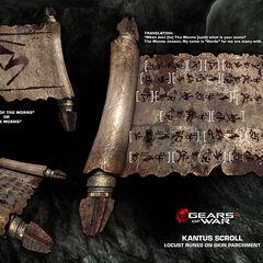 Lengua escrita de los Kantus