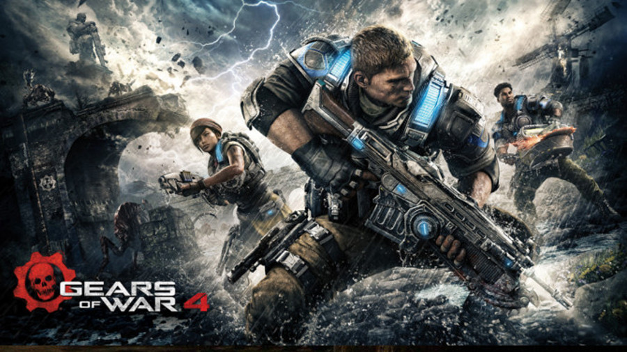 Gears of War 4 slider
