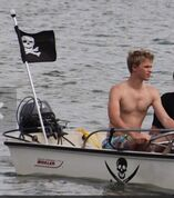 Kenton-duty-on-a-boat-shirtless