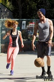 Bella-thorne-and-tristan-klier-playing-basketball