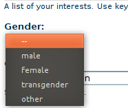 Drupal-gender