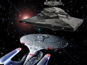 Enterprise meet Star Destroyer b