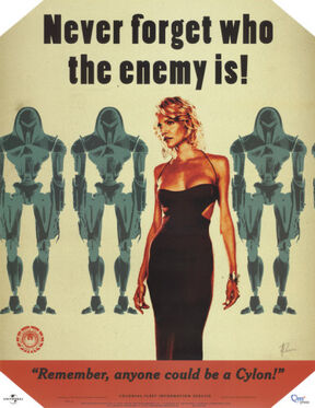 Battlestar-galactica-never-forget-who-the-enemy-is-tv-poster-print