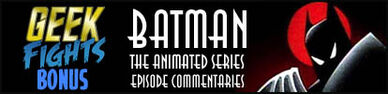 Geekfight batman animated