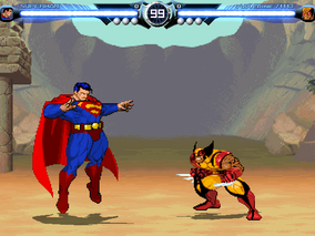 Superman vs wolverine
