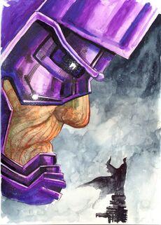 Galactus vc Batman