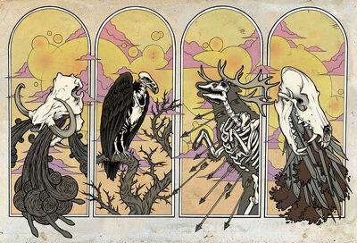 Four Horsemen of the Apocalypse by scumbugg