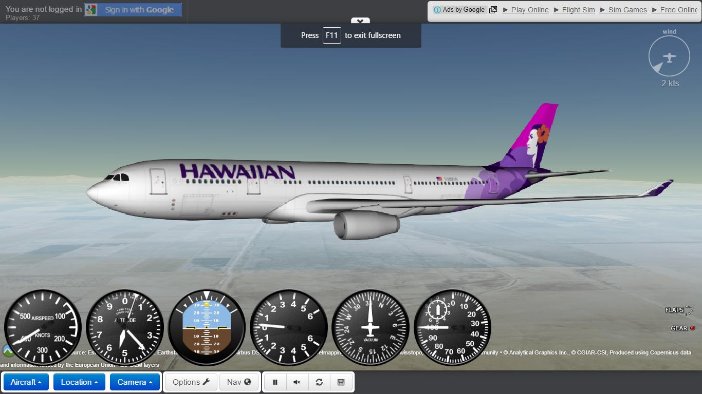 gefs aircraft
